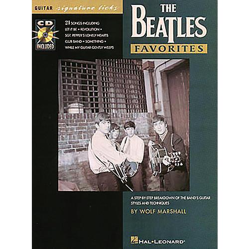 Hal Leonard Beatles Favorites Guitar Signature Licks Book with CD-thumbnail