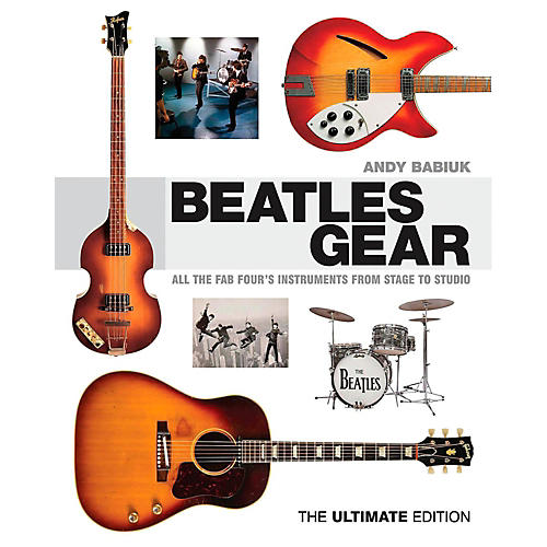 Backbeat Books Beatles Gear Revised Edition: All The Fab Four's Instruments From Stage to Studio-thumbnail