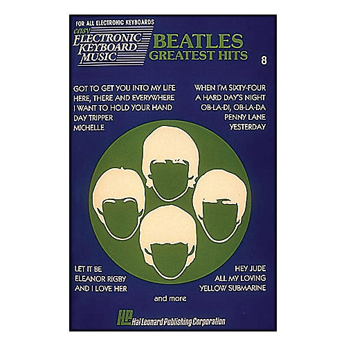 Hal Leonard Beatles Greatest Hits EKM 8