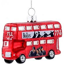 "Kurt S. Adler Beatles ""Hard Days Night"" Bus Ornament"