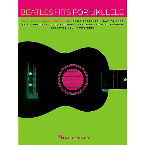 Hal Leonard Beatles Hits For Ukulele-thumbnail