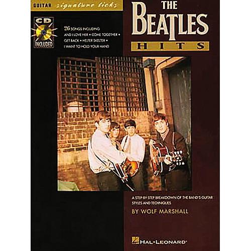 Hal Leonard Beatles Hits Guitar Signature Licks Book with CD-thumbnail