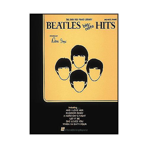 Hal Leonard Beatles Hits for Big Note Piano-thumbnail