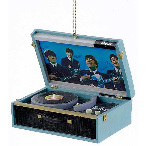 Kurt S. Adler Beatles Replica Record Player Ornament