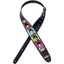D'Addario Planet Waves Beatles Sgt Pepper Lonely Hearts Club Band 50th Anniversary Vegan Guitar Strap