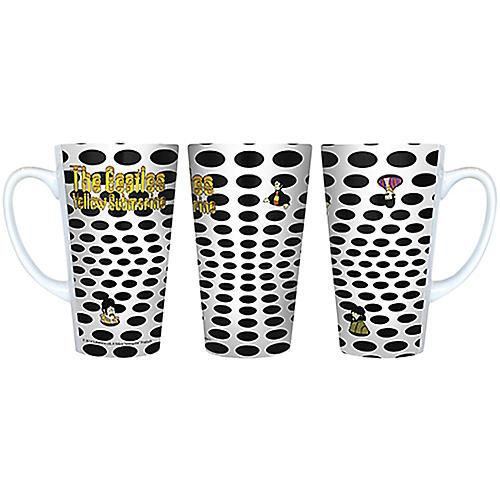 Boelter Brands Beatles Yellow Submarine Holes Latte Mug 16 oz.-thumbnail