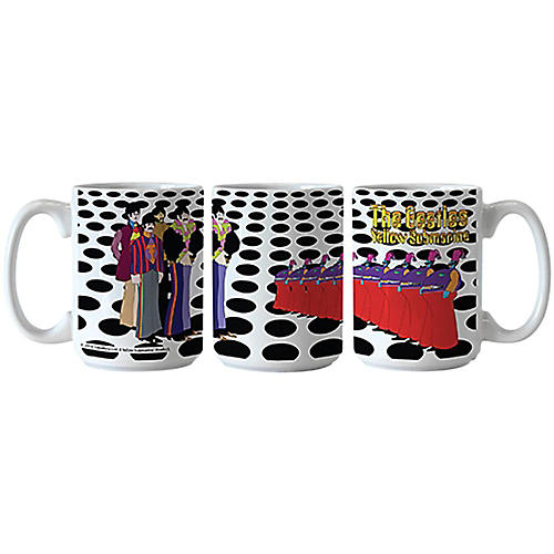 Boelter Brands Beatles Yellow Submarine Holes Scuplted Mug 15 oz.-thumbnail