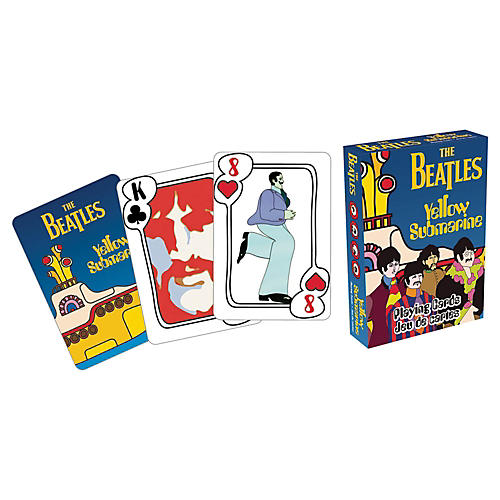 Hal Leonard Beatles Yellow Submarine Playing Cards-thumbnail