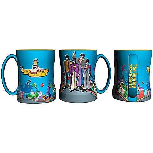 Boelter Brands Beatles Yellow Submarine Relief Mug