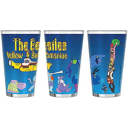 Boelter Brands Beatles Yellow Submarine Villains Sublimated Pint 16 oz.