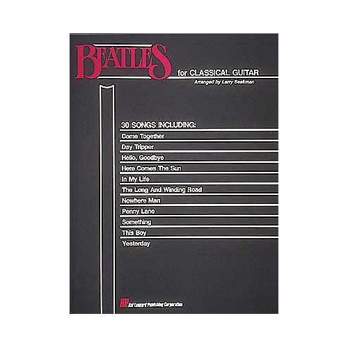 Hal Leonard Beatles for Classical Guitar(Book)-thumbnail