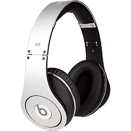 Monster Beats Studio  Headphones - Silver