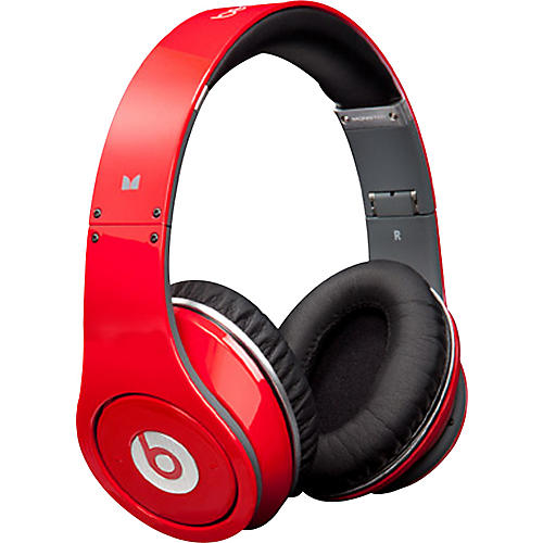 Monster Beats by Dr. Dre Studio Headphones Red