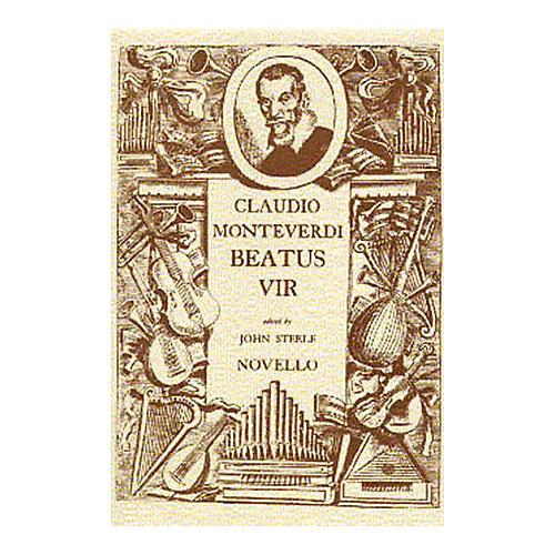 Novello Beatus Vir (Vocal Score (Latin)) SATB Composed by Claudio Monteverdi
