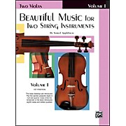 Alfred Beautiful Music for Two String Instruments Book I 2 Violas