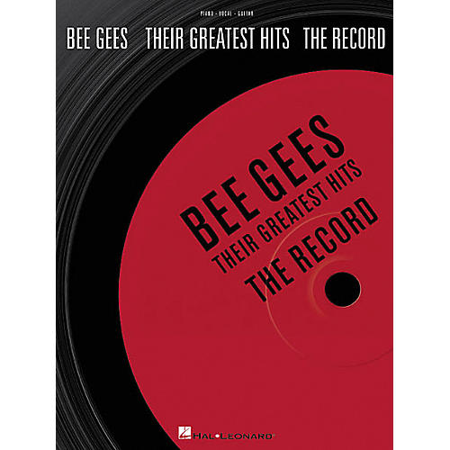 Hal Leonard Bee Gees - Their Greatest Hits: The Record Book
