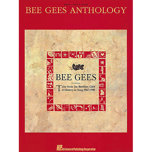 Hal Leonard Bee Gees Anthology Piano, Vocal, Guitar Songbook-thumbnail