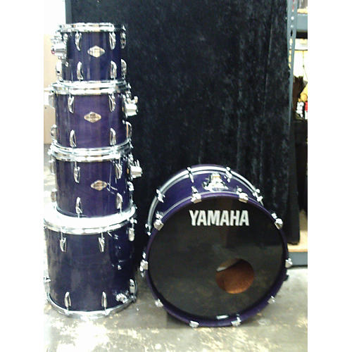Yamaha Beech Custom Drum Kit