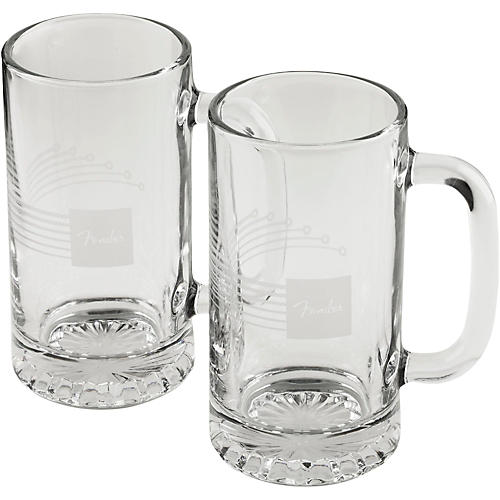 Fender Beer Mug 16 oz. (2-Pack)-thumbnail