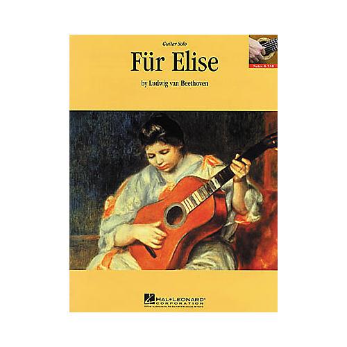 Hal Leonard Beethoven: Fur Elise Guitar Sheet Music Book