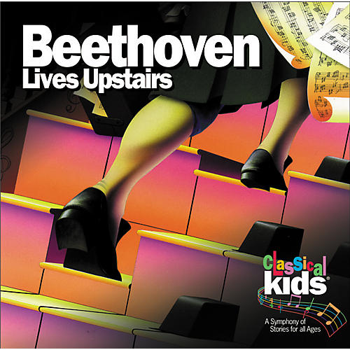 Children's Book Store Beethoven Lives Upstairs CD