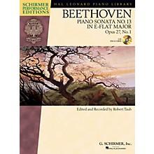 G. Schirmer Beethoven: Sonata No 13 in E-flat Major, Opus 27, No. 1 Schirmer Performance Edition BK/CD Edited by Taub