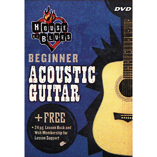Rock House Beginner Acoustic Guitar (DVD)