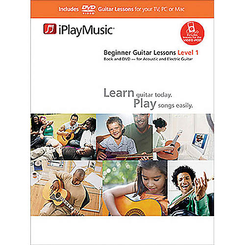 music sales beginner guitar lessons level 1 music sales america series softcover with dvd. Black Bedroom Furniture Sets. Home Design Ideas