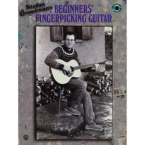 Alfred Beginner's Fingerpicking Guitar Tab Songbook with CD
