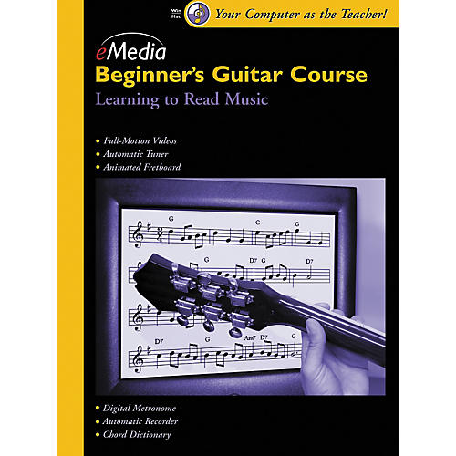 Emedia Beginner's Guitar Course, Vol. 4 (CD-ROM)