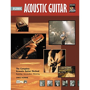 Alfred Beginning Acoustic Guitar Book/CD