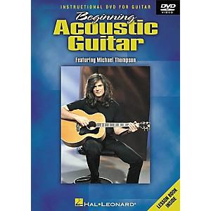 Hal Leonard Beginning Acoustic Guitar DVD