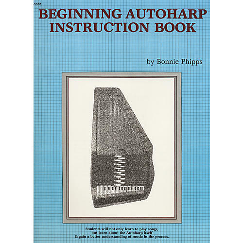 Alfred Beginning Autoharp Instruction Book-thumbnail