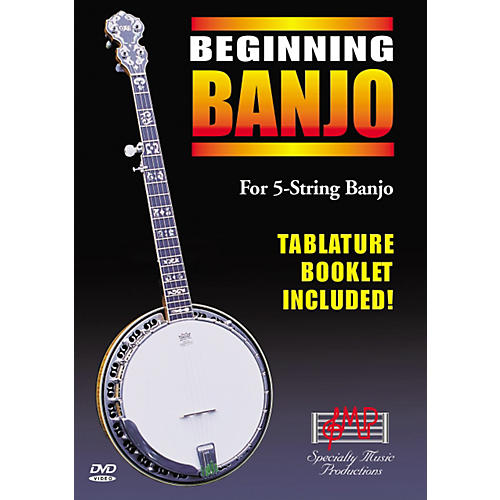 Specialty Music Productions Beginning Banjo DVD-thumbnail
