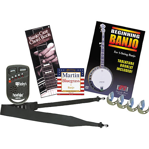 Musician's Friend Beginning Banjo Instructional Pack