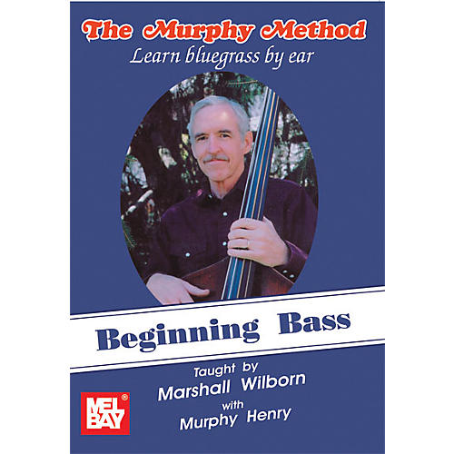 Mel Bay Beginning Bass - Learn Bluegrass by Ear DVD