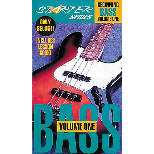 Hal Leonard Beginning Bass Guitar Video Starter Package Volume 1