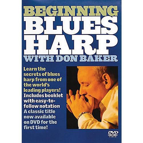 Music Sales Beginning Blues Harp Music Sales America Series DVD Written by Don Baker