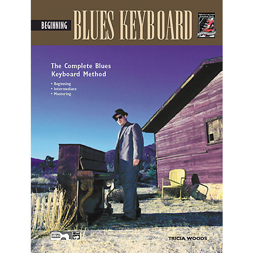 Alfred Beginning Blues Keyboard (Book/CD)-thumbnail