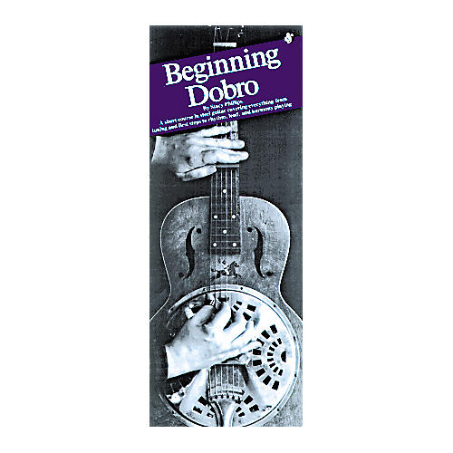 Music Sales Beginning Dobro Compact Reference Book