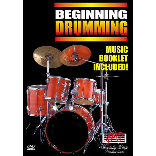 Specialty Music Productions Beginning Drumming (DVD)-thumbnail