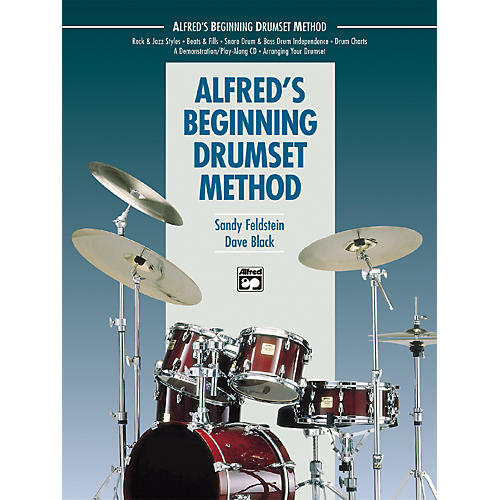 Alfred Beginning Drumset Method Book with CD-thumbnail