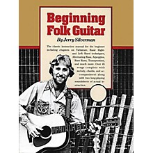 Oak Beginning Folk Guitar Music Sales America Series Softcover Written by Jerry Silverman