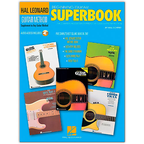 Hal Leonard Beginning Guitar Superbook (Book and CD Package)-thumbnail