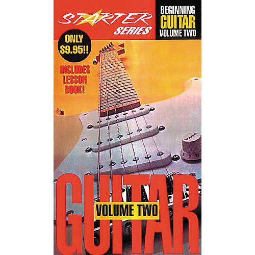 Hal Leonard Beginning Guitar Video Starter Package Volume 2-thumbnail
