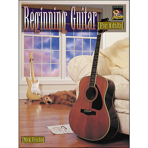 Alfred Beginning Guitar for Adults (Book/CD)