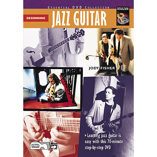 Alfred Beginning Jazz Guitar (Book/DVD)-thumbnail