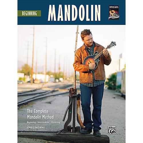 Alfred Beginning Mandolin (Book/CD)-thumbnail