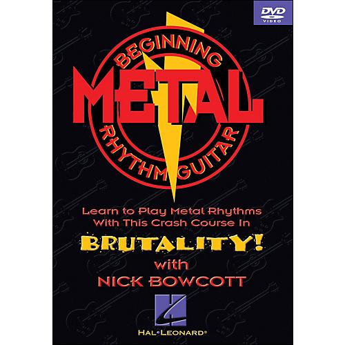 Hal Leonard Beginning Metal Guitar (DVD)-thumbnail