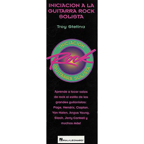 Hal Leonard Beginning Rock Lead Guitar - Spanish Book